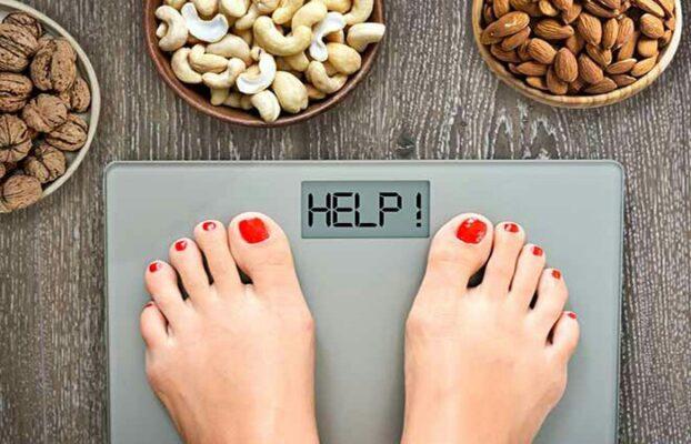 کاهش وزن با آجیل